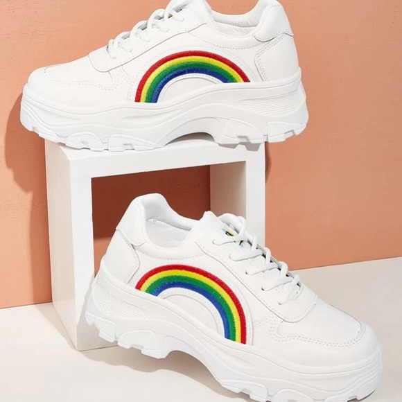Other - Mens Rainbow Chunky Sneakers